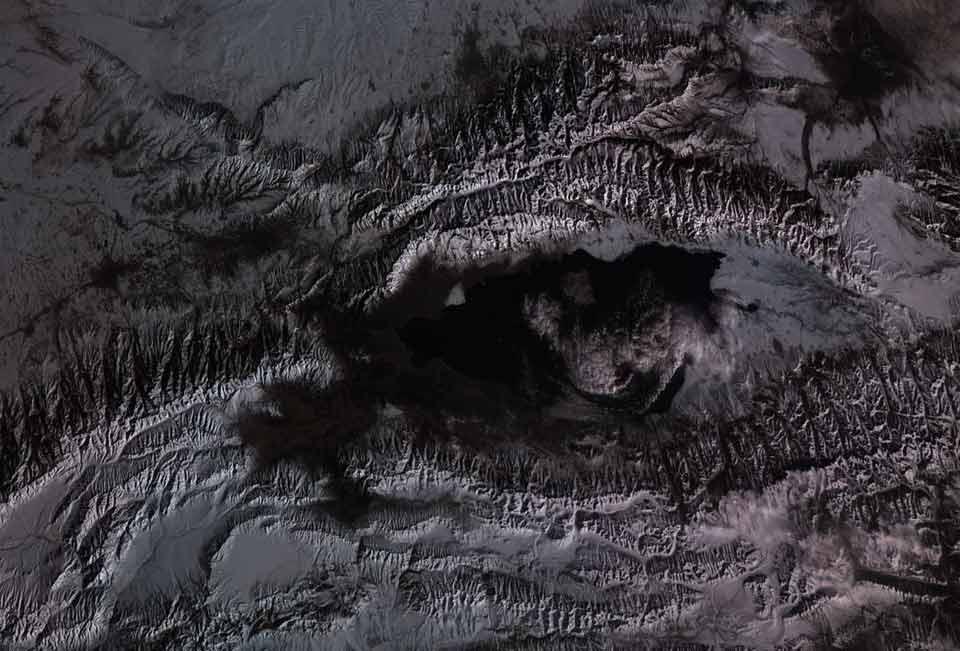 Карта гор №1